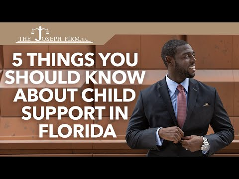 5 Things You Should Know About Child Support in Florida