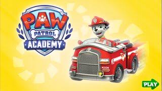 Paw Patrol Academy Marshall puts out fire Щенячий патруль Академия щенков Маршал тушит пожар