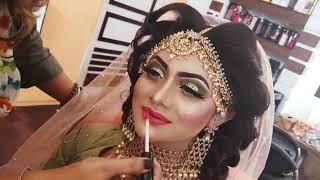 Bridal Makeup Video Tutorial by Raziya'S Makeover Studio