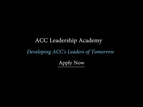 ACC Leadership Academy Video