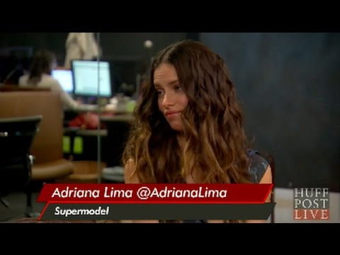 Huff Post Live Interview Adriana Lima September 09, 2013