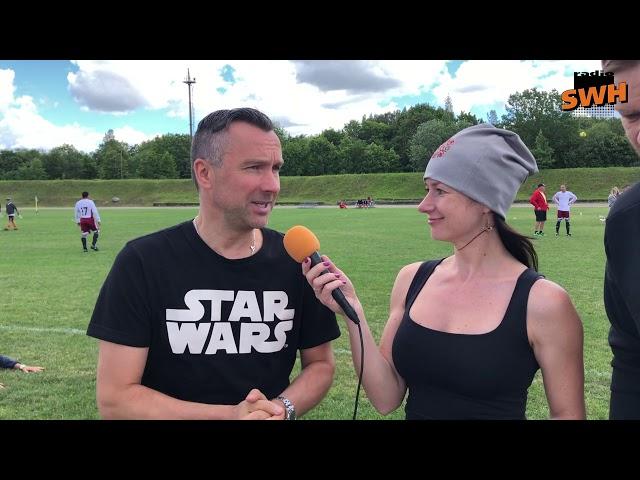 Kaspars Roga, Kaspars Gorkšs, Inese Vaikule - Radio SWH reportāžas no Talsiem (06.07.2019.)