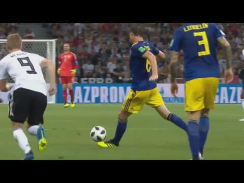 Germany vs sweden world cup 2018 results