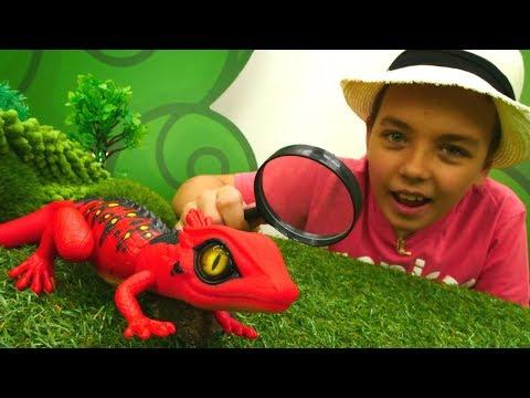 Смотреть мультфильм про ящерицу
