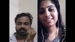 vuclip Superb Singing - Nirmal Thushar Attingal and Soumya : Neelaravil innu ninte malayalam song