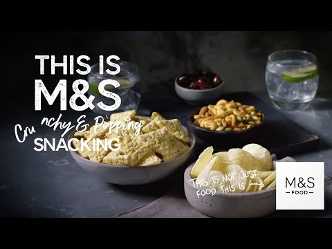 M&S   M&S   This Is Not Just Snacks... This Is M&S Crunchy & Popping Snacking