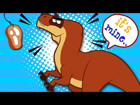 I'm A Dinosaur – The Fastest Hunting Dinosaurs | Funny Cartoon Show | Cartoon For Kids