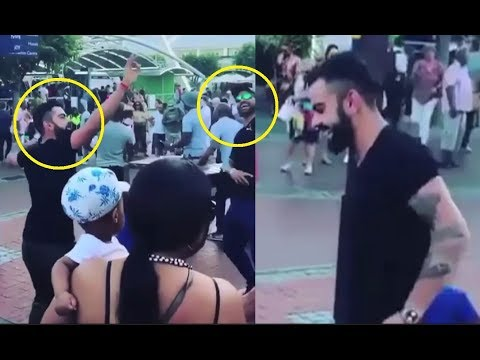 Virat Kohli Dance With Shikhar Dhawan On Streets Of South Africa