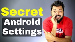 5 SECRET ANDROID SETTINGS YOU SHOULD TRY (Hindi)