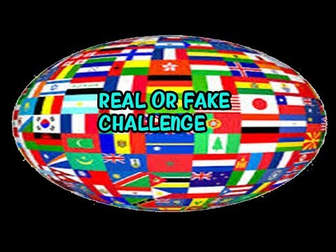 REAL OR FAKE CHALLENGE|FLAGS