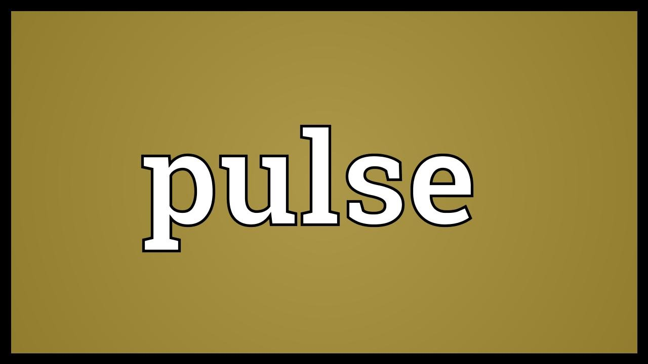 Pulse Meaning