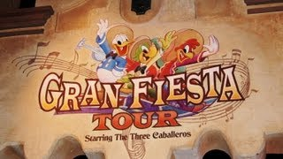 Gran Fiesta Tour starring the Three Caballeros Epcot Mexico Boat Ride Disney World (Pandavision)
