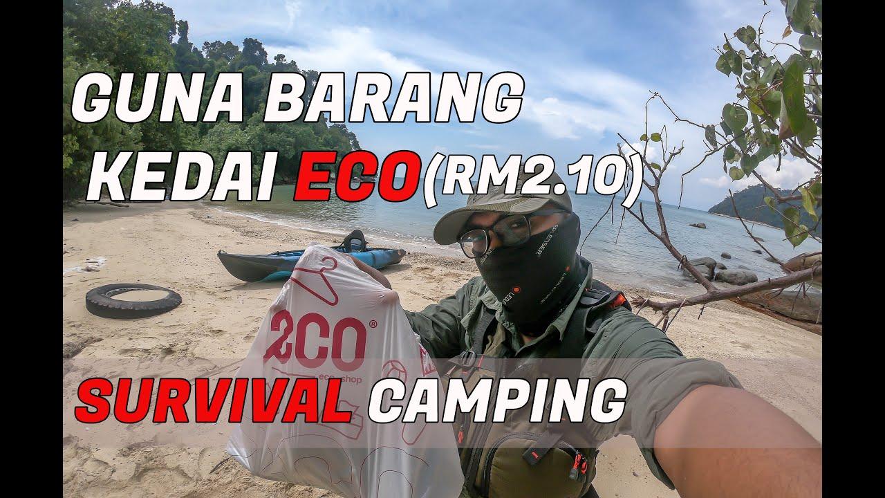 24 Hours Survival Challenge Guna Barang Kedai ECO (RM2.10) SAHAJA!