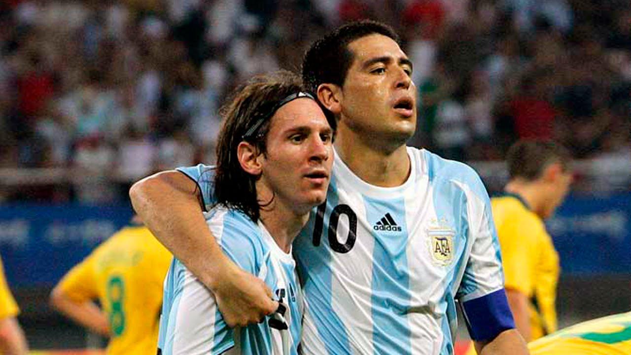 Riquelme y Messi (Toco y me voy) - YouTube