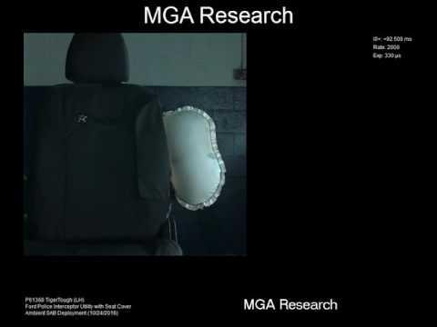 Slow Motion Airbag Testing