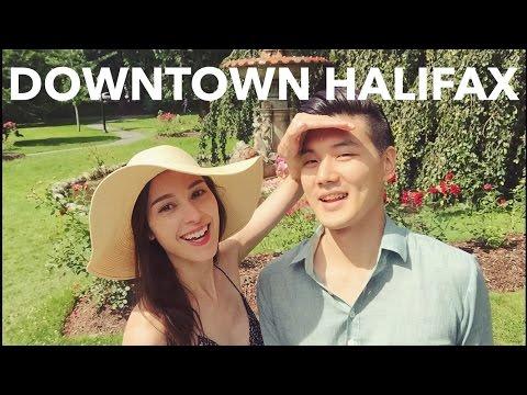 Downtown Halifax, Nova Scotia, Canada 국제커플의 여행 캐나다 다운타운 핼리팩스 (자막 CC)