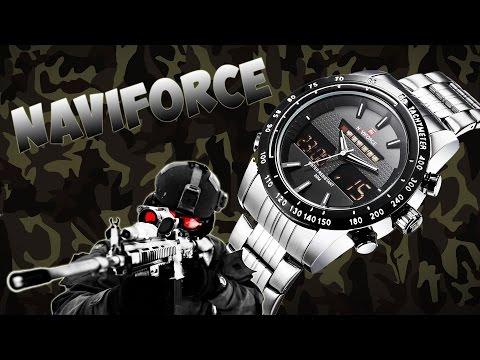 Кварцевые наручные китайские часы NaviForce