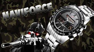 Кварцевые наручные китайские часы NaviForce(Купить наручные часы NaviForce: http://bit.ly/1Yun3zv ➤ Скидки до 20% при заказах в Интернет магазинах: https://goo.gl/z5puK9 Розыгры..., 2016-06-09T13:35:53.000Z)