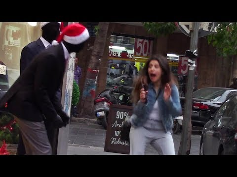 Mannequin Scare Prank 5 (Christmas Edition)