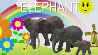 EXTRA LONG Schleichtiere, wildlife animals, farm animals, animal names and animal sounds