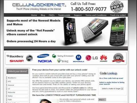 UNLOCK SAMSUNG A736 - How to Unlock Samsung SGH-A736 from Rogers/fido by Unlock Code