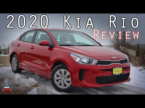 2020 Kia Rio Review - A HUGE Improvement!