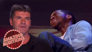 Contestant COLLAPSES On Stage After PERFECT Audition | Amazing Auditions