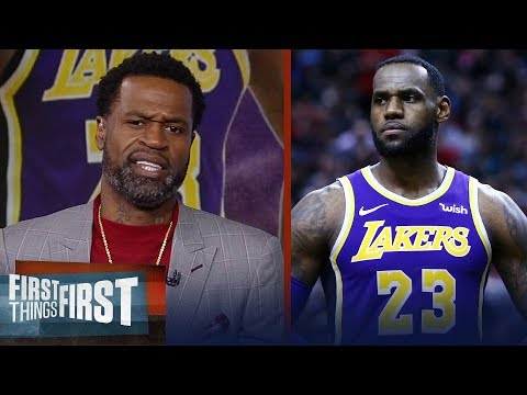 Stephen Jackson reacts to Walt Frazier criticizing LeBron James | NBA | FIRST THINGS FIRST