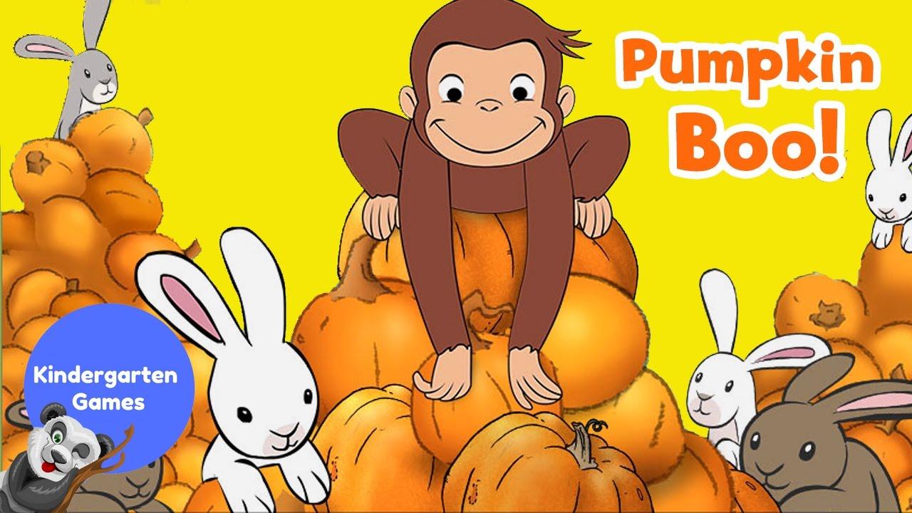 curious george halloween pumpkin boo kindergarten games - Curious George Halloween Games