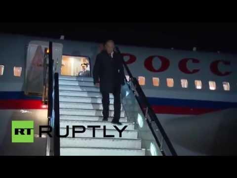 Russia: Putin lands in Vladivostok for first ever Eastern Economic Forum