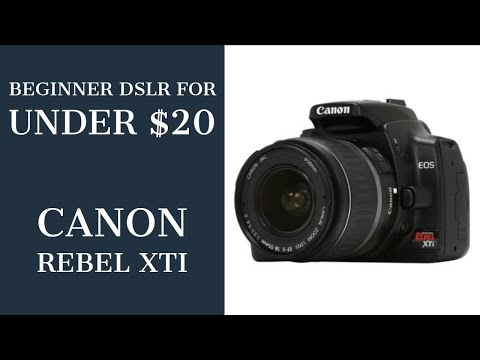 Canon XTi In 2019, Photography On A Budget