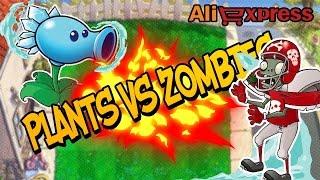 РАСТЕНИЯ ПРОТИВ ЗОМБИ - AliExpress - посылка из Китая  - Plants vs zombies !!!