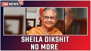 Sheila Dikshit Passes Away