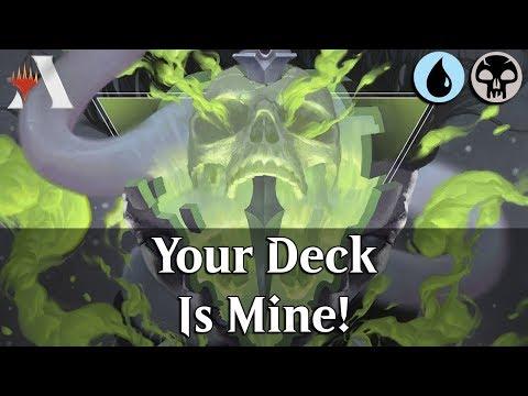MTG Arena GRN | Dimir Deck Thief DeckTech & Gameplay [Mine!]