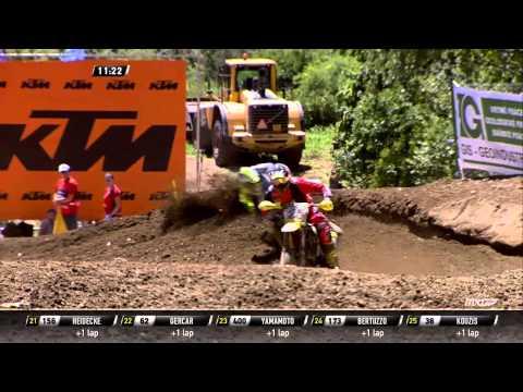 MXGP of Czech Republic 2015 FULL Race Replay MXGP Race 1