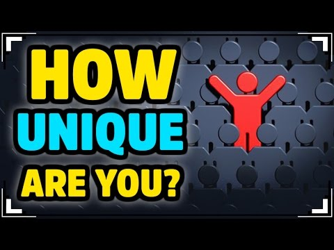 How UNIQUE Are You? (ACCURATE)