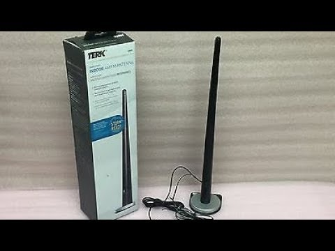 Terk Tower Indoor Amfm Hd Radio Antenna Review Test Youtube