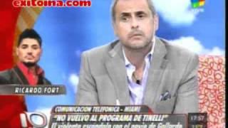 Exitoina.com - Fort no vuelve a Bailando 2010