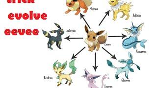 Super Trick Evolve Eevee Complete - Pokemon Go - Pokemon HD