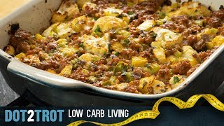 Low Carb Sausage Stuffing For The Holidays