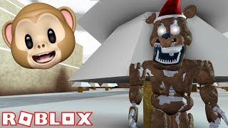 NIGHTMARE FREDDY SANTA IN FNAF 4!! | ROBLOX Five Night's At Freddy's ANIMATRONICS UNIVERSE
