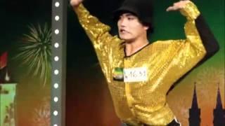 """Phan Đình Huy - """"Người Không Xương"""" - Vietnam's Got Talent"""
