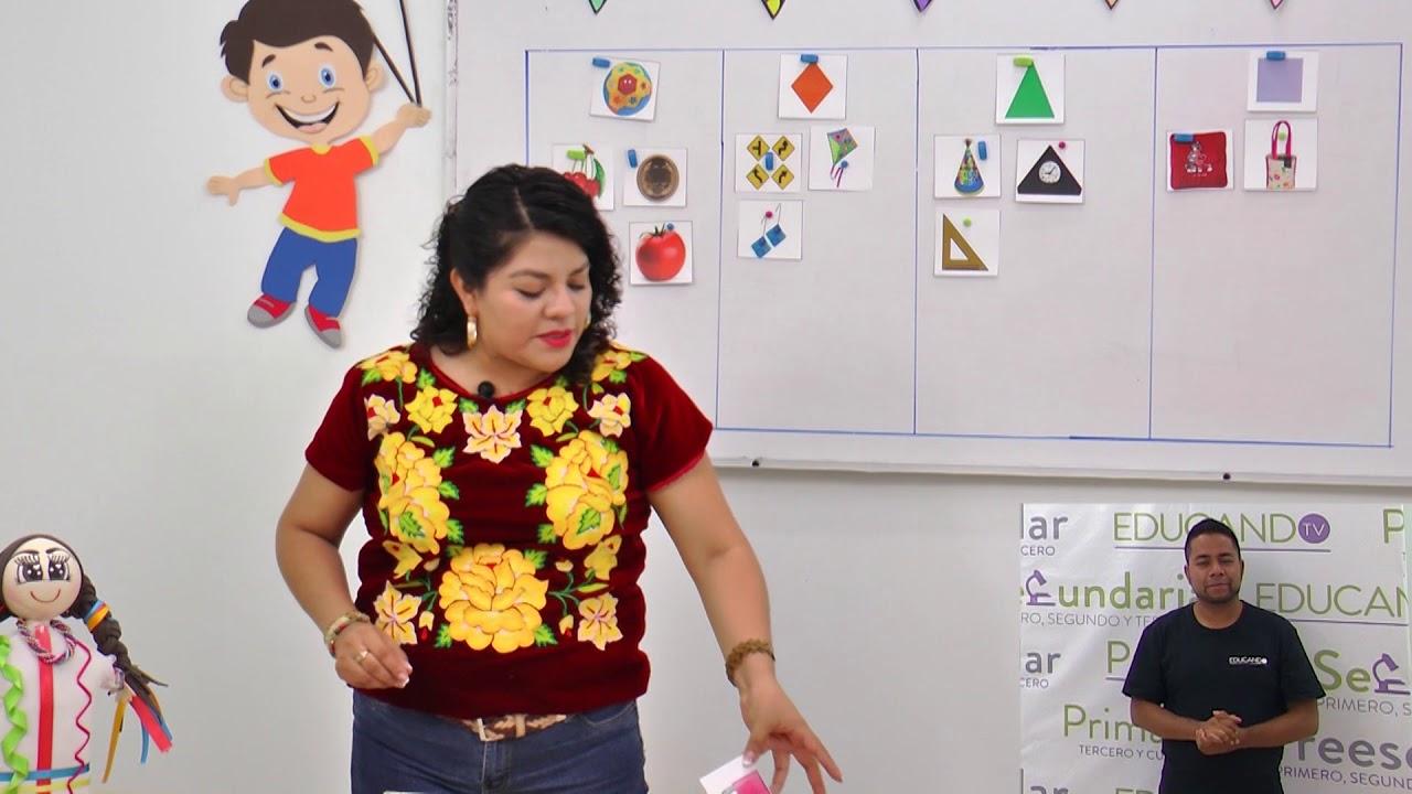 Preescolar Clase 197 Tema Las Figuras Geometricas Youtube