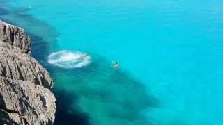 Mallorca cliff jumping