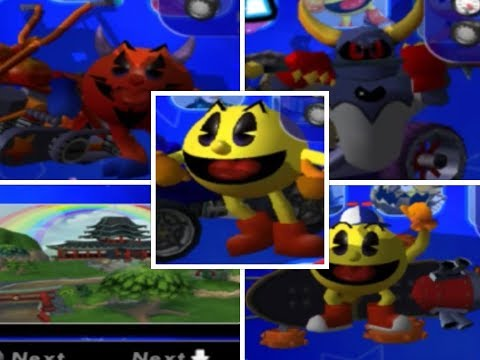 Pac-Man World Rally ALL Stages Cups & Characters & Ready For Racing HD 1080p 60fps