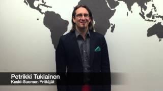 Petrikki Tukiainen - Keski-Suomen Yrittäjät