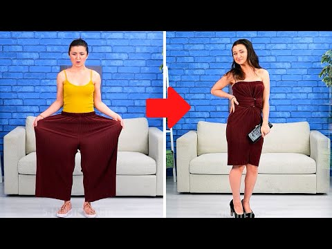 LIFE-SAVING HACKS FROM UNWANTED PROBLEMS || Beauty Ideas And Fashion Tips by 5-Minute DECOR! - Видео онлайн