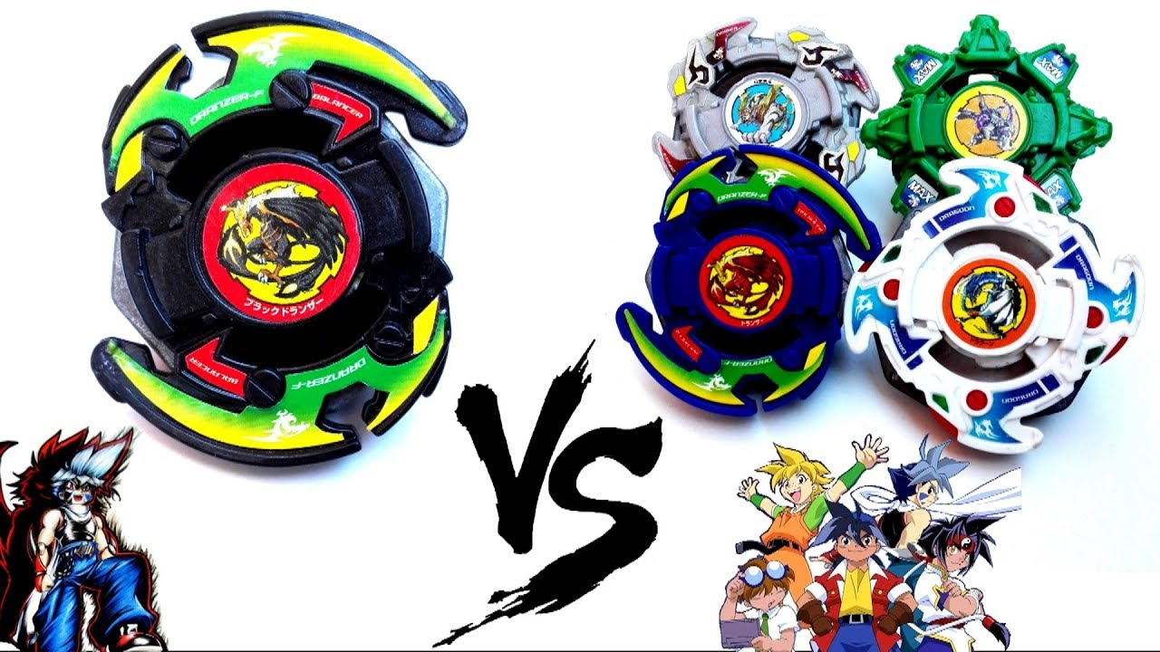 black dranzer vs bladebreakers epic battle from beyblade 2001