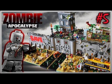 LEGO Самоделка - Зомби Апокалипсис #5 - FINAL  / LEGO Zombie Apocalipsis MOC