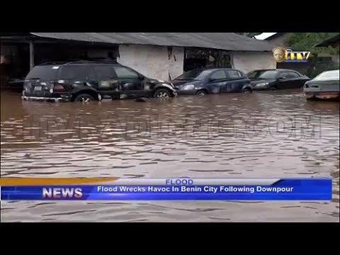 Flood wrecks havoc in Benin following downpour